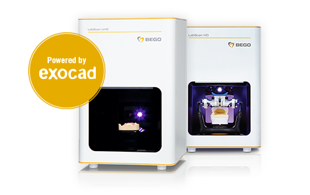 BEGO LabScan HD/UHD – powered by exocad